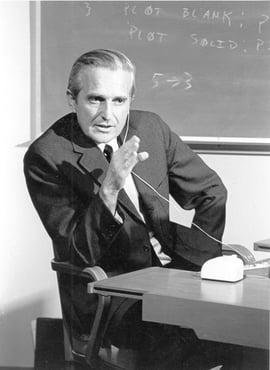 Douglas Engelbart, circa 1968